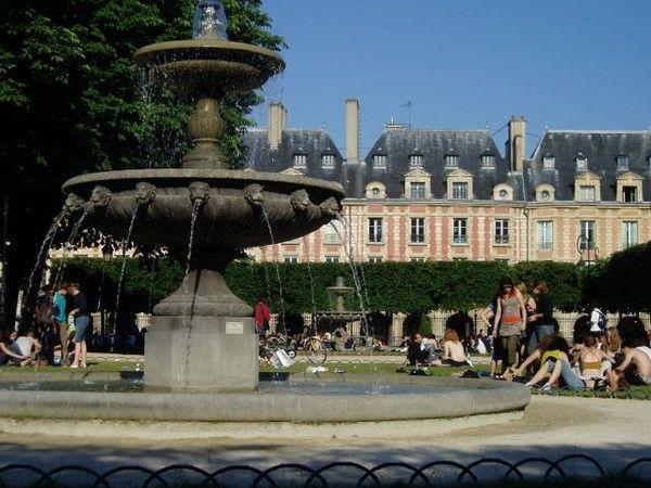 Le quartier du Marais à Paris